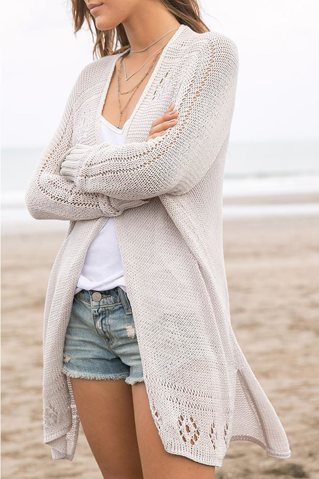 Wooden Ships Renee Cardigan - Side Cropped Image