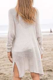 Wooden Ships Renee Cardigan - Back cropped