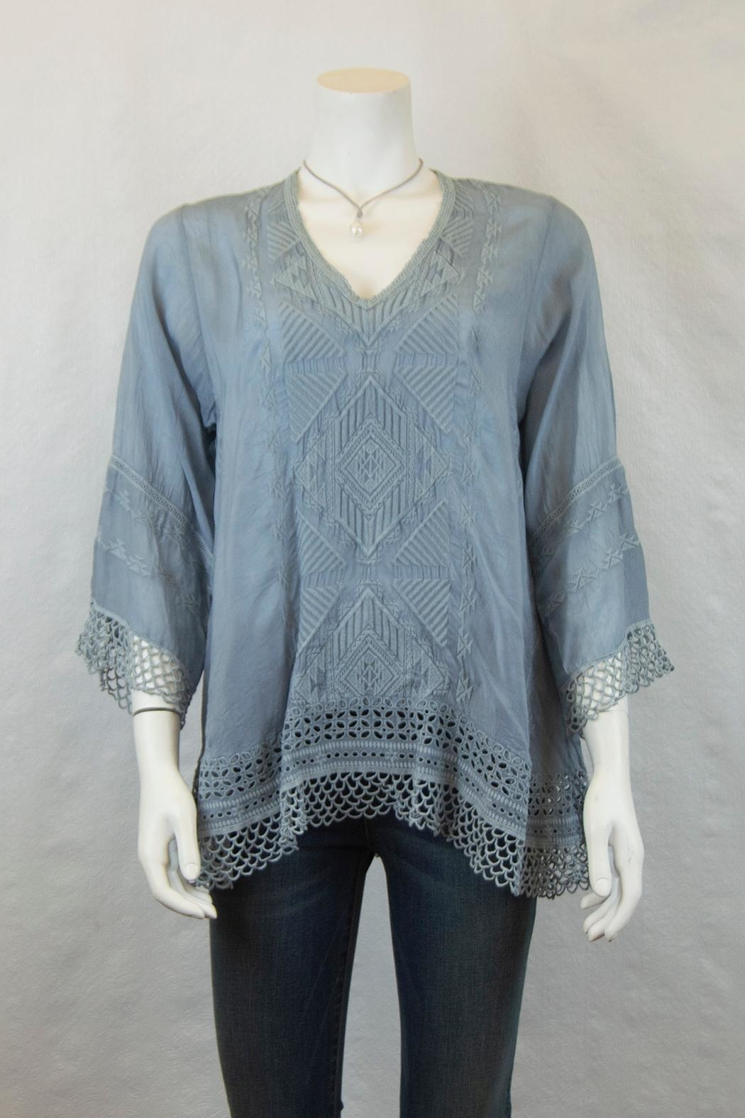 Johnny Was Collection Renee Lace Blouse - Main Image