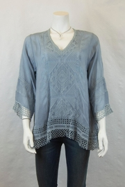 Johnny Was Collection Renee Lace Blouse - Product Mini Image