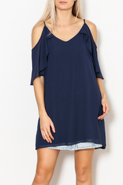 Single Renee Ruffle Sleeve Dress - Product Mini Image