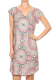 Renee C Batik Pattern Dress - Product Mini Image