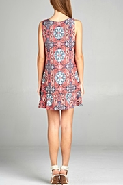 Renee C Boho Ruffle Dress - Front full body
