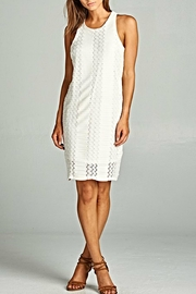 Renee C Ivory Beauty Dress - Product Mini Image