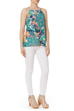 Shoptiques Product: Print Keyhole Top