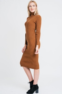 Renee C Turtleneck Sweater Dress - Alternate List Image