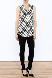 Renuar Sleeveless Pullover Blouse - Front full body