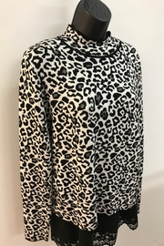 Renuar Snow Leopard Sweater - Product Mini Image