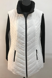 Renuar White/black Reversible Vest - Product Mini Image