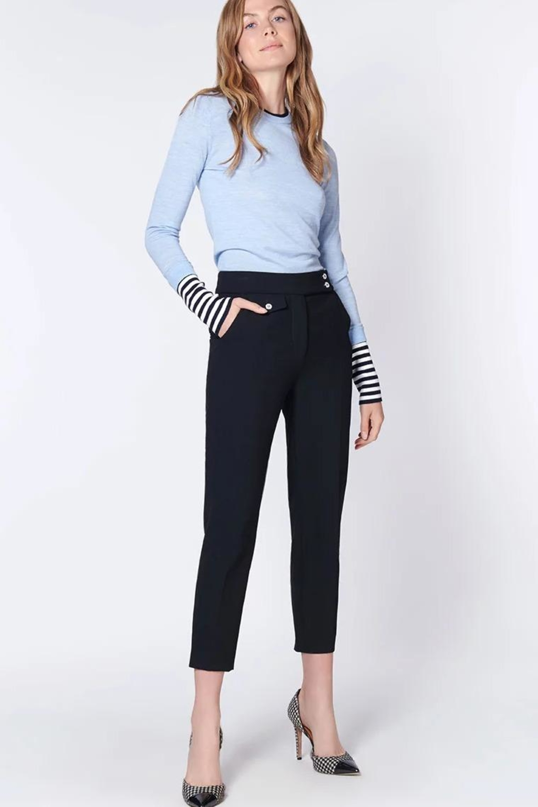 Veronica Beard Renzo Pants - Front Full Image