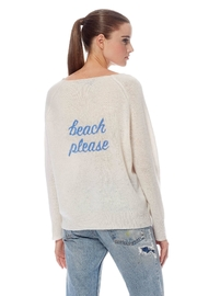 Repeat Beach Please Sweater - Front cropped