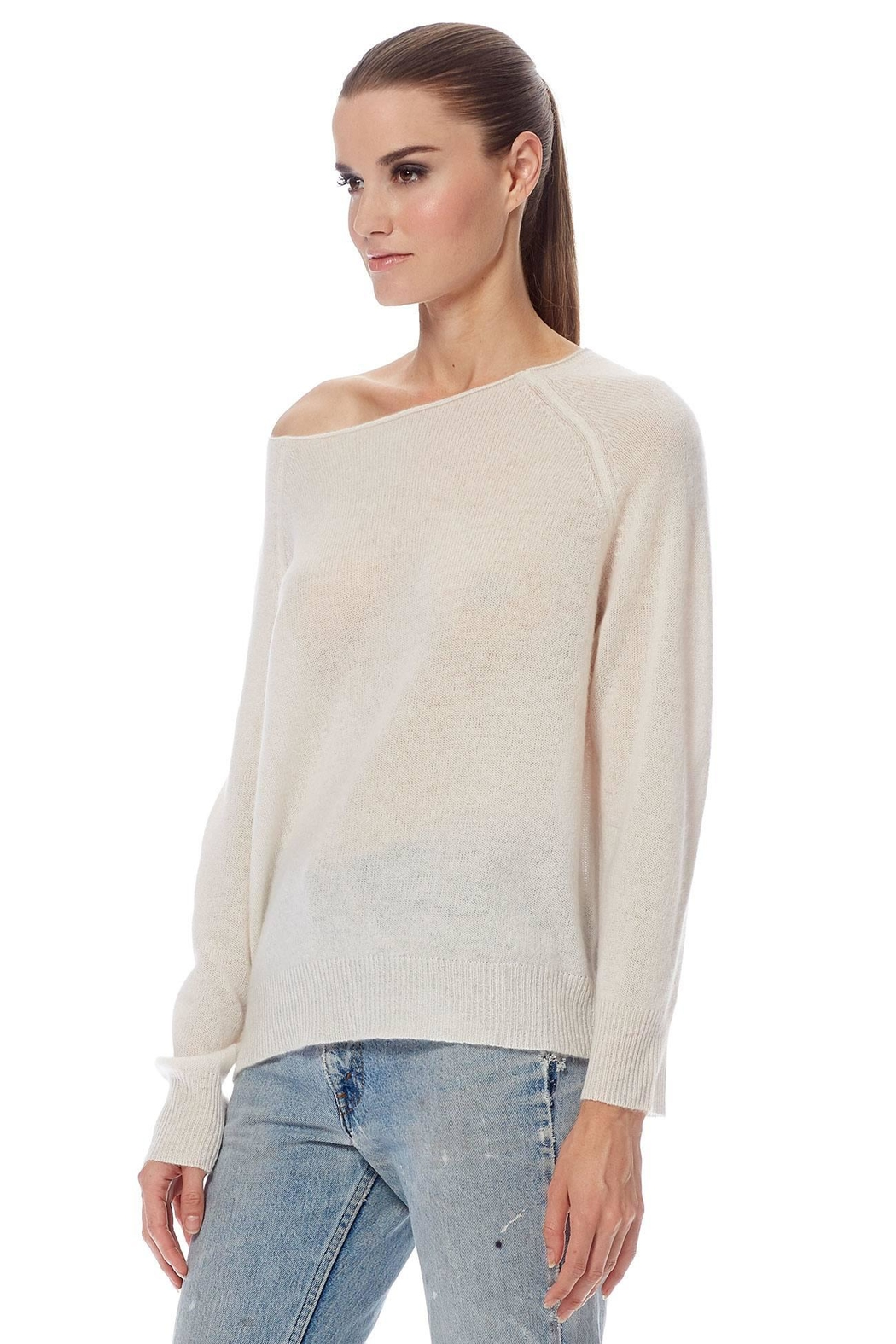 Repeat Beach Please Sweater - Side Cropped Image