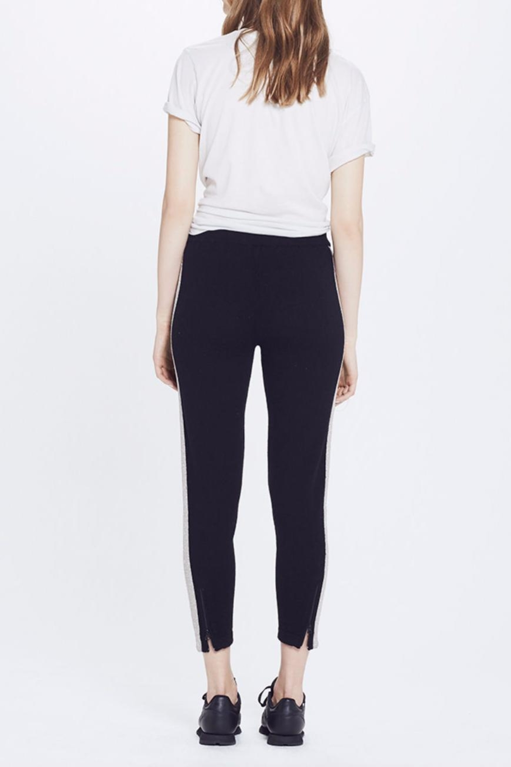 Replica Los Angeles Cashmere Track Pants - Side Cropped Image