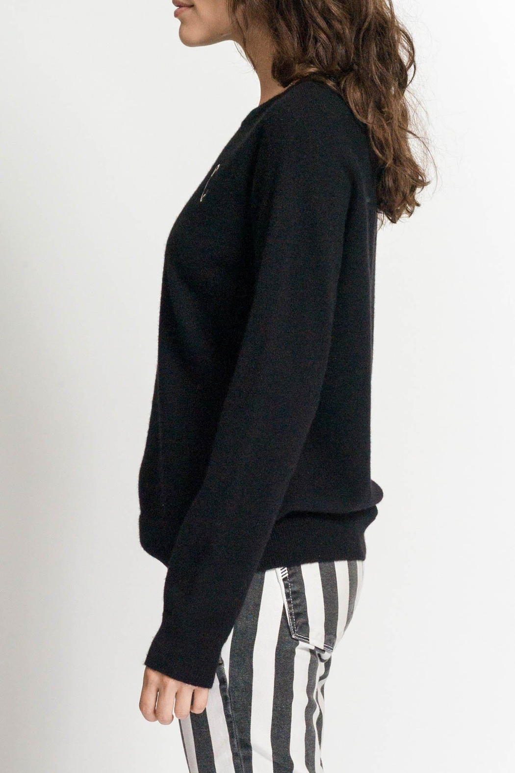 Replica Los Angeles Safety Pin Sweatshirt - Front Full Image