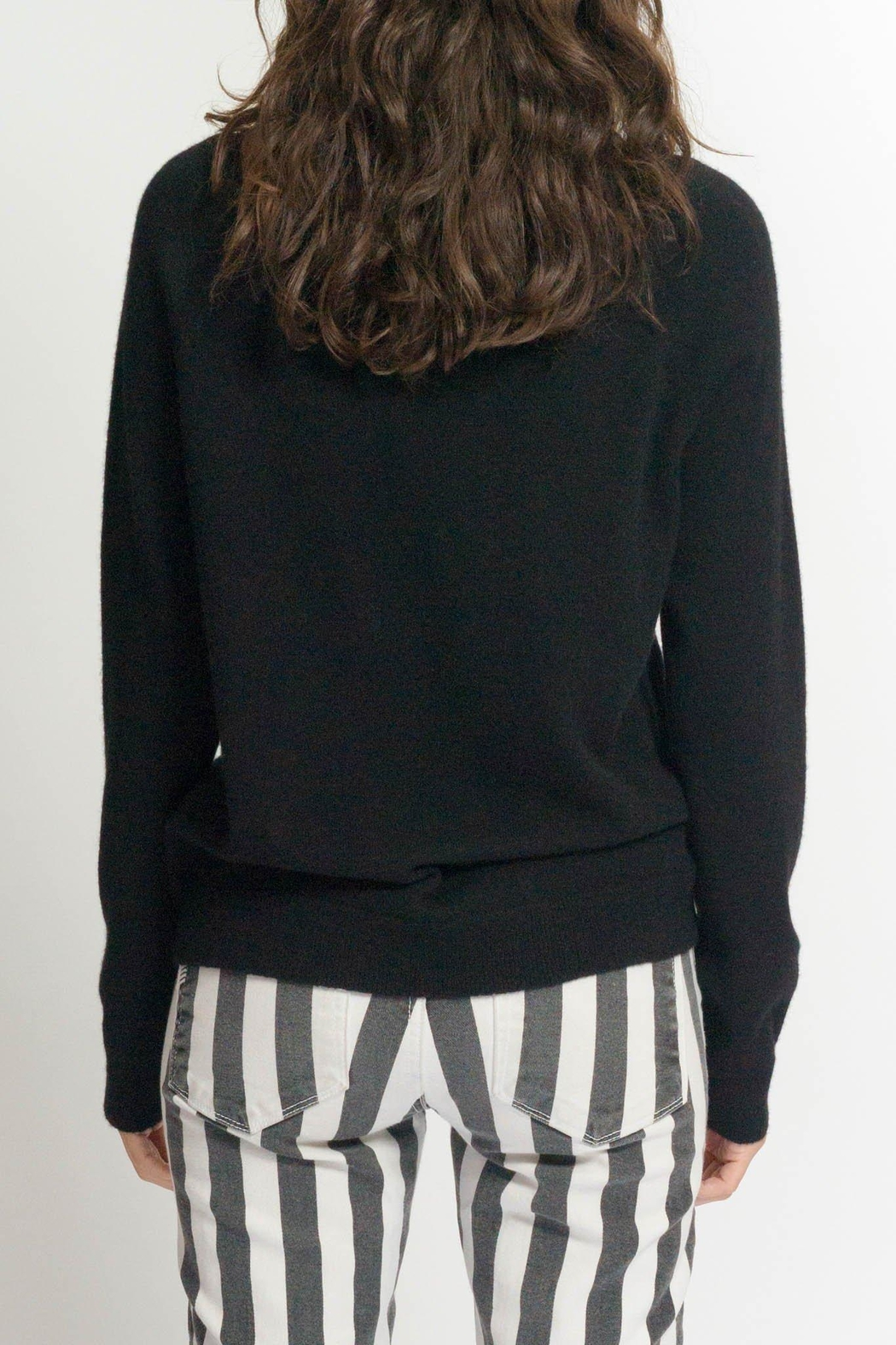 Replica Los Angeles Safety Pin Sweatshirt - Side Cropped Image