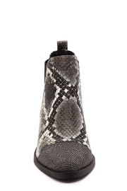 Report Snake Print Bootie - Front full body
