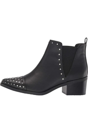 Report Studded Point-Toe Boot - Front full body