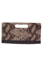 HUMAWACA Reptile Leather Clutch - Product Mini Image