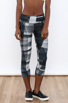 Rese Activewear Night Waves Print Leggings - Product List Image