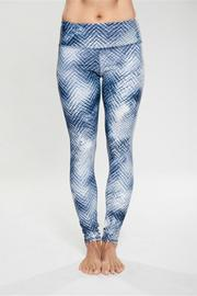 Rese Activewear Blue Note Leggings - Product Mini Image