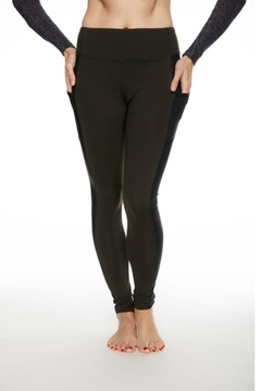 Rese Activewear Glossy Pocket Leggings - Product List Image