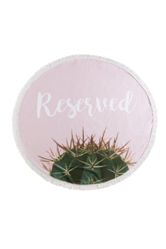 Shiraleah Reserved Round Beach Towel & Bag - Product List Image