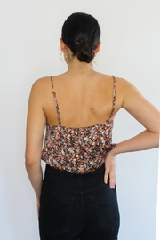 RESET BY JANE Floral Frankie Crop Top - Front full body