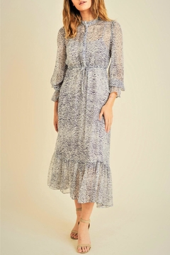 RESET BY JANE Zebra Print Midi - Product List Image