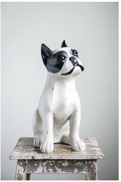 Shoptiques Product: Resin Sitting Dog