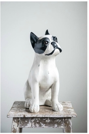Creative Co-Op Resin Sitting Dog - Product Mini Image