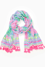 Lilly Pulitzer  Resort Scarf - Front full body