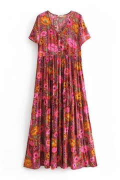 Racine Resortwear Print Maxi-Dress - Alternate List Image