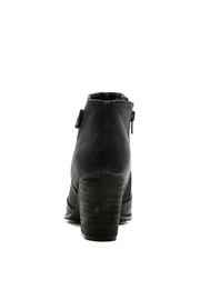 Restricted Chunky Heel Booties - Front full body