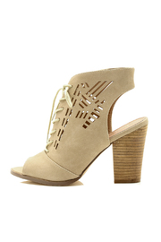 Restricted Laser Cut Tie Heels - Product Mini Image