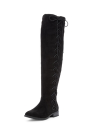 Restricted Over The Knee Boots - Product Mini Image