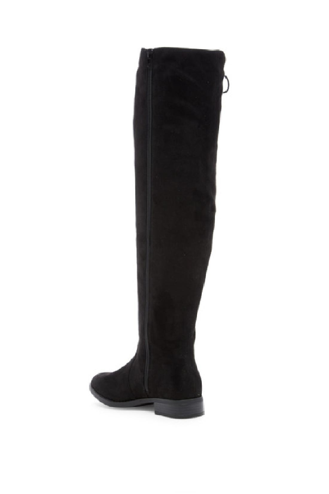 Restricted Over The Knee Boots - Front Full Image