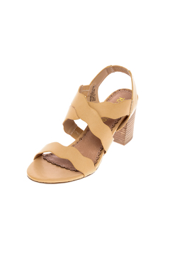 Restricted Nude Block Heel Sandal - Alternate List Image