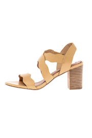 Restricted Nude Block Heel Sandal - Product Mini Image