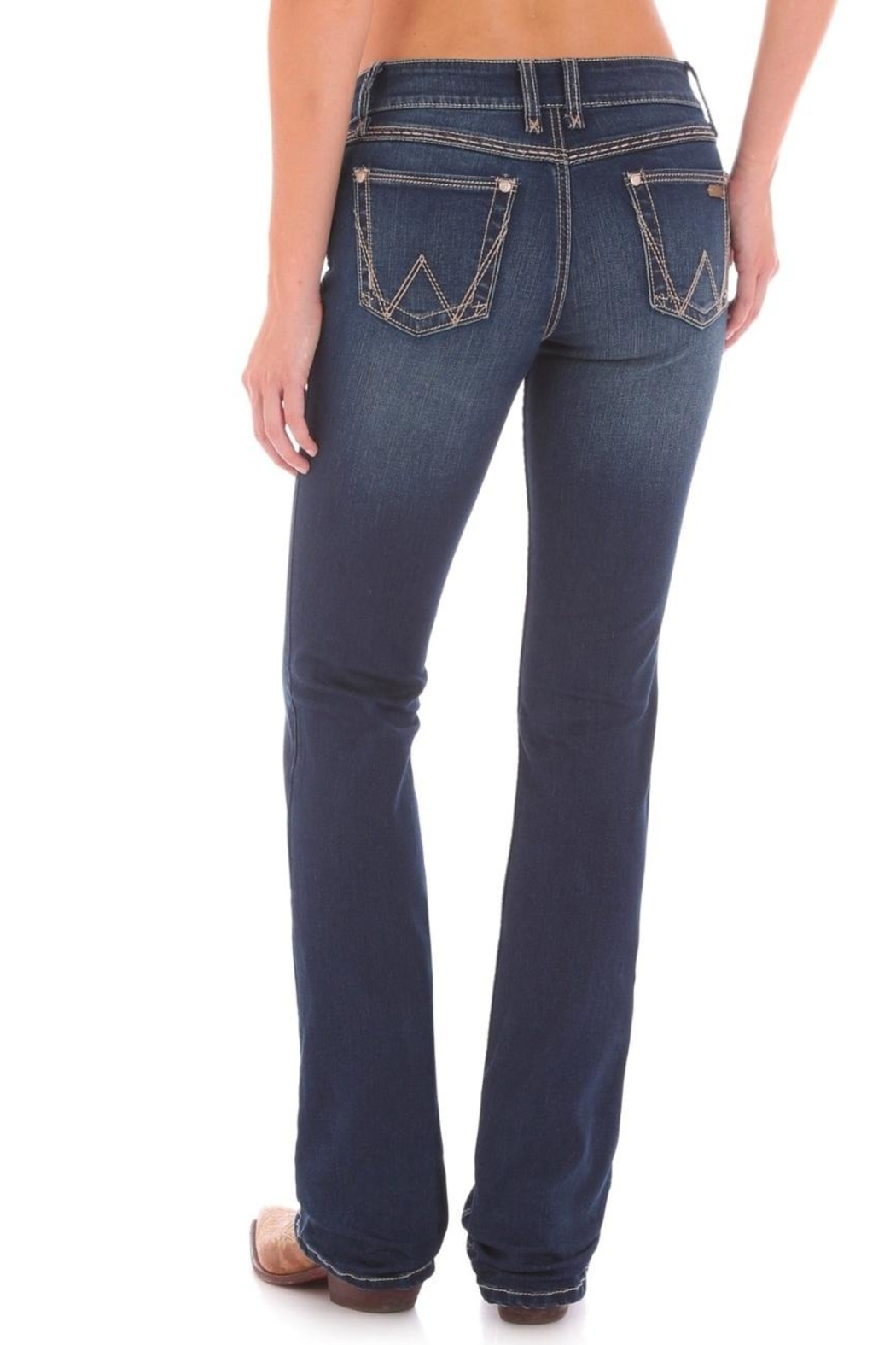 Wrangler Retro Boot-Cut Jeans - Back Cropped Image