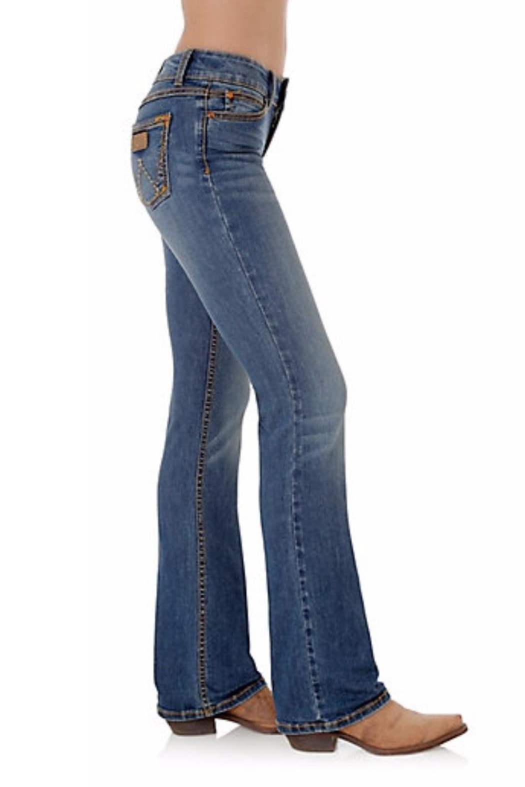 Wrangler Retro Boot-Cut Jeans - Side Cropped Image