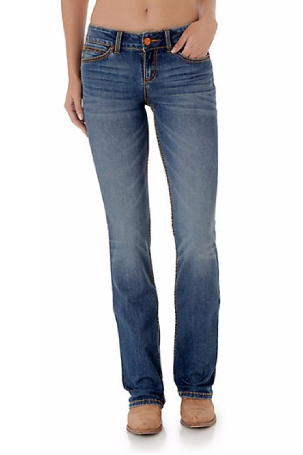 Wrangler Retro Boot-Cut Jeans - Front Cropped Image