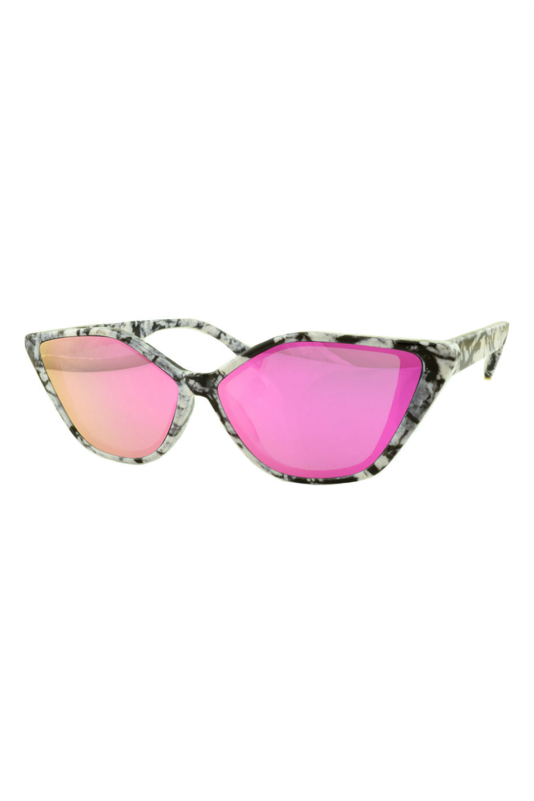 Susan Ankerson Retro Cat Eye Sunglasses - Front Cropped Image
