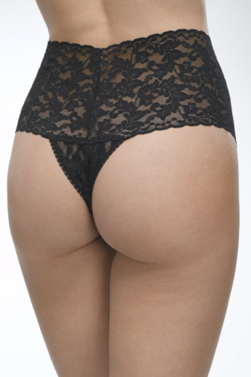 Hanky Panky Ltd. Retro Lace Thong - Front Full Image