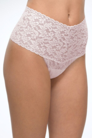 Hanky Panky Ltd. Retro Lace Thong - Front cropped