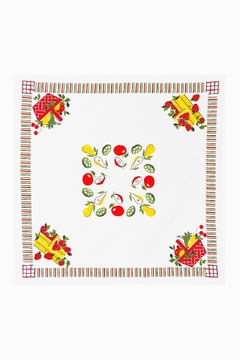 Red and White Kitchen Co. Retro Picnic Tablecloth - Alternate List Image