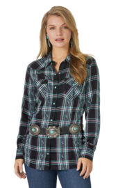 Wrangler Retro Punchy Top - Front cropped