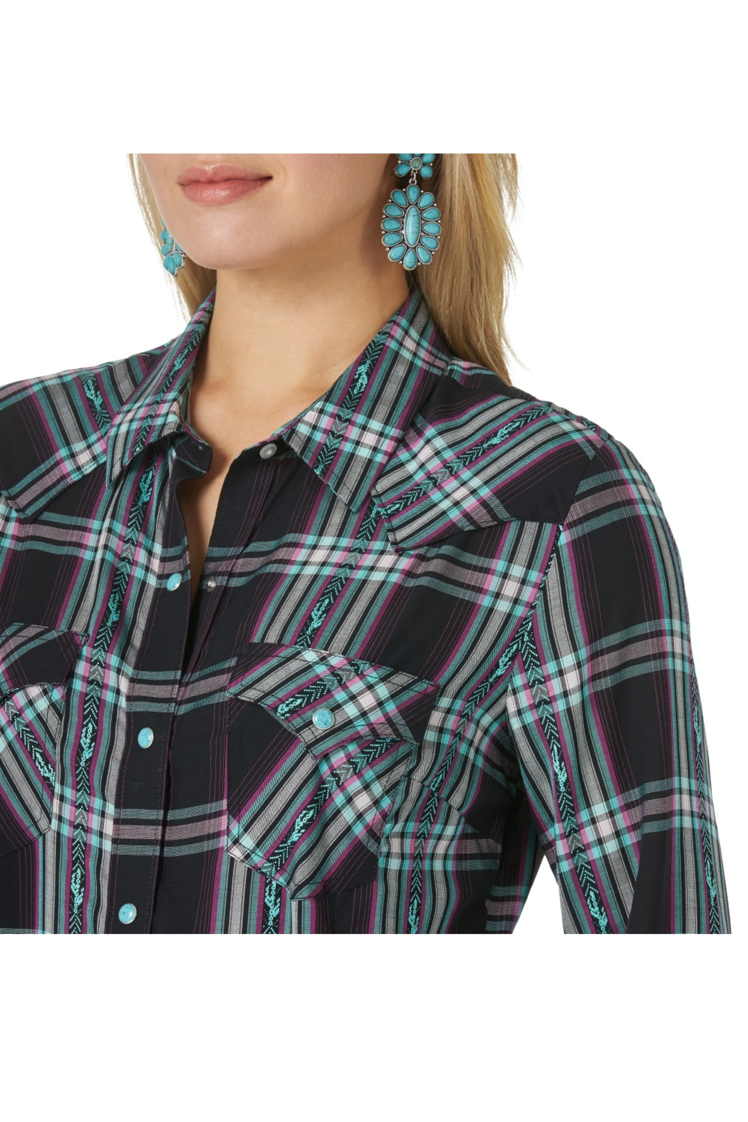 Wrangler Retro Punchy Top - Side Cropped Image