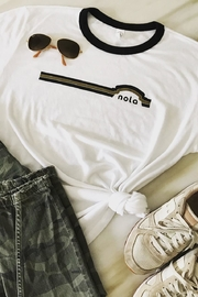 Alternative Apparel Retro Ringer Tee - Front cropped