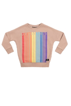 Rock Your Baby Retro Skateboarding Sweatshirt - Product List Image
