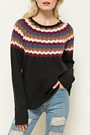 Hem & Thread Retro Ski Sweater - Product Mini Image